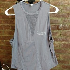 PELOTON Collection x Glyder Muscle Tank, Ladies XS